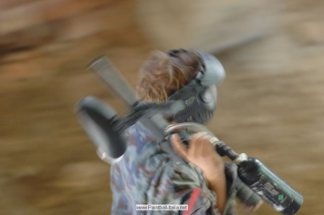 Paintball in Close Quarter Combat