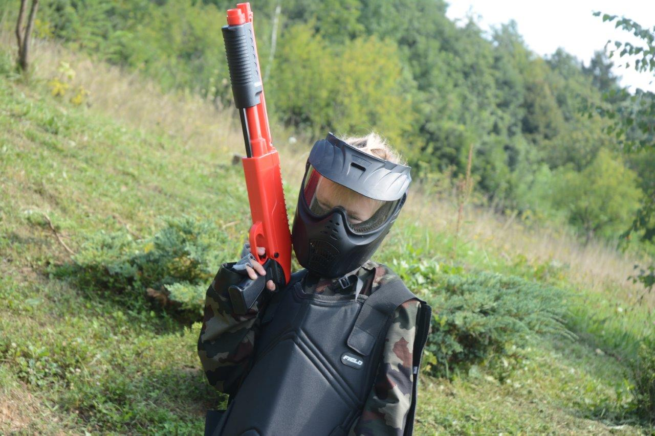 paintball otrok